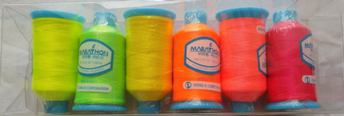 Polyester Marathon Embroidery Machine Thread - Neon Pack